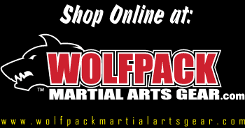 Shop in our Tampa Store or online at www.wolfpackmartialartsgear.com